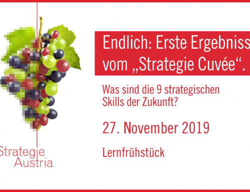 """Endlich: Erste Ergebnisse vom """"Strategie Cuvée"""""""