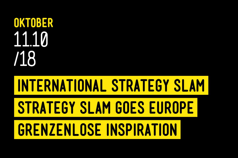 International Strategy Slam 2018